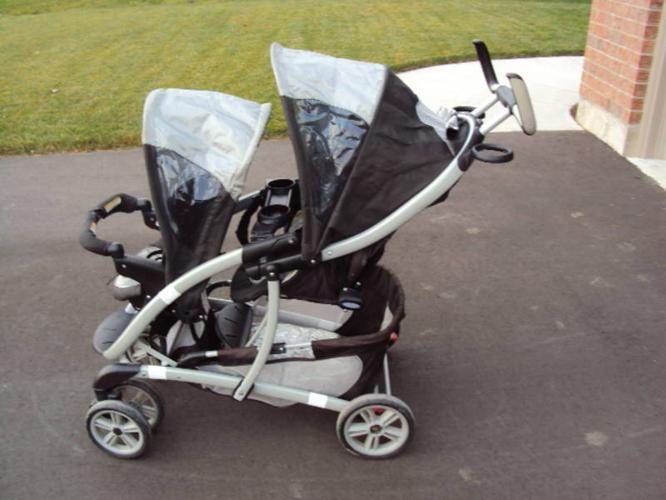 Graco Quattro Tour Double Stroller For Sale In Simcoe