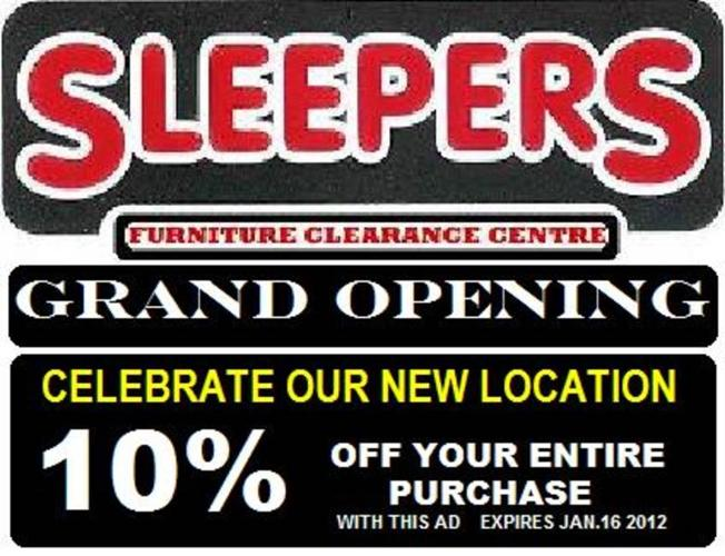 Grand Opening New Location Bring In This Ad For Your