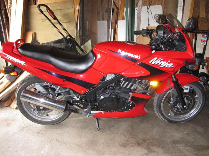 Great bike with low mileage