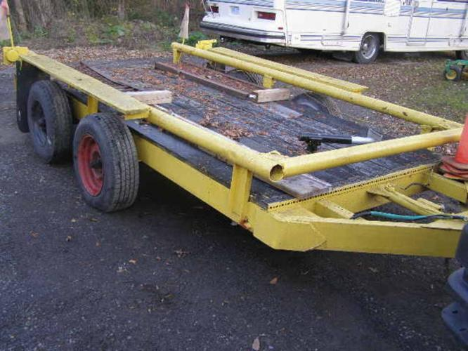 heavy duty Construction trailer --- NEW PRICE ---