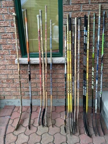 Hockey Sticks: Right-handed, Left-handed, Children's