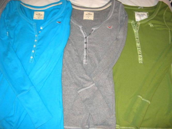 Hollister/ Abercrombie Shirts- Medium