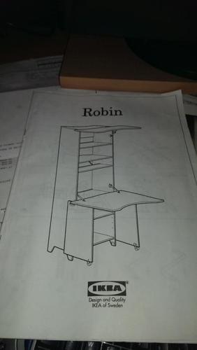 IKEA Robin corner Computer Desk/Armoire - White (mint condition)