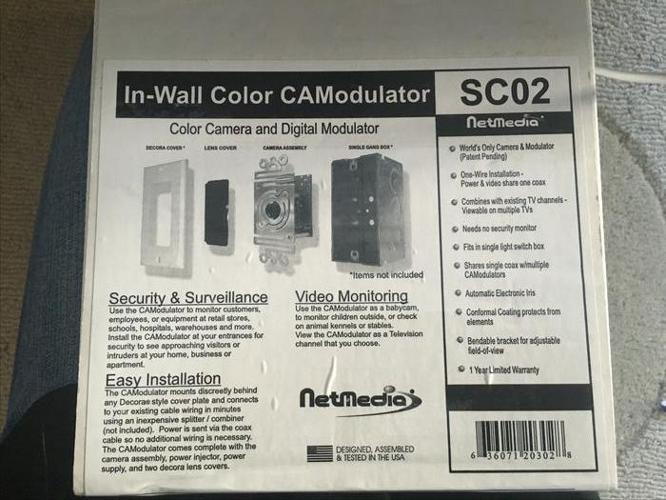 In-Wall Color CAModulator