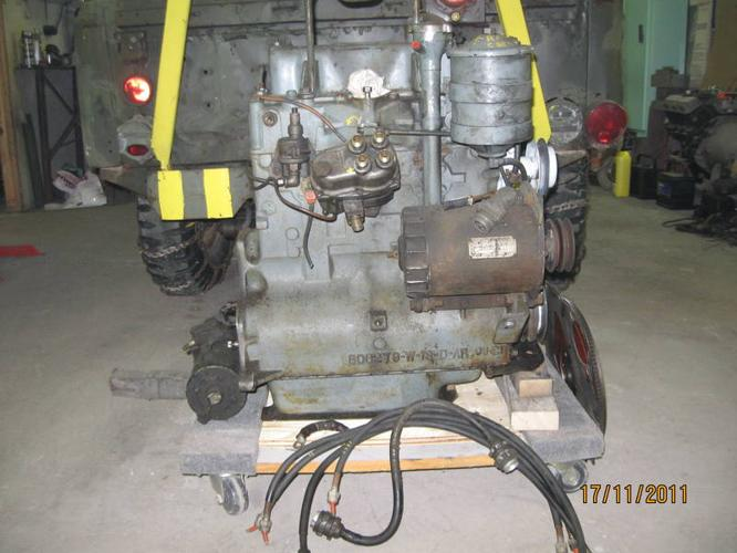 Van Horn Jeep >> JEEP ENGINE- 1953 M38A1 MILITARY 4cyl. plus parts for sale ...
