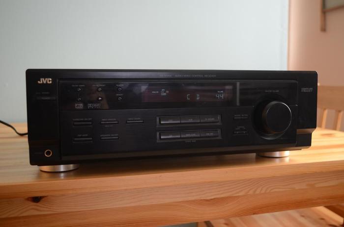 JVC RX-6010V AUDIO/VIDEO CONTROL RECEIVER
