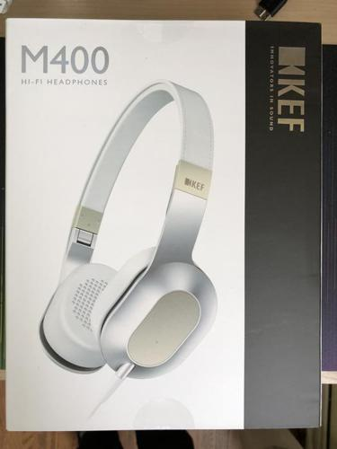 KEF M400 Headphones - Brand New - Sealed Box