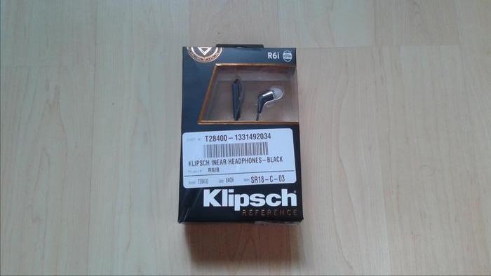 Klipsch R6i In-Ear Headphones - BRAND NEW