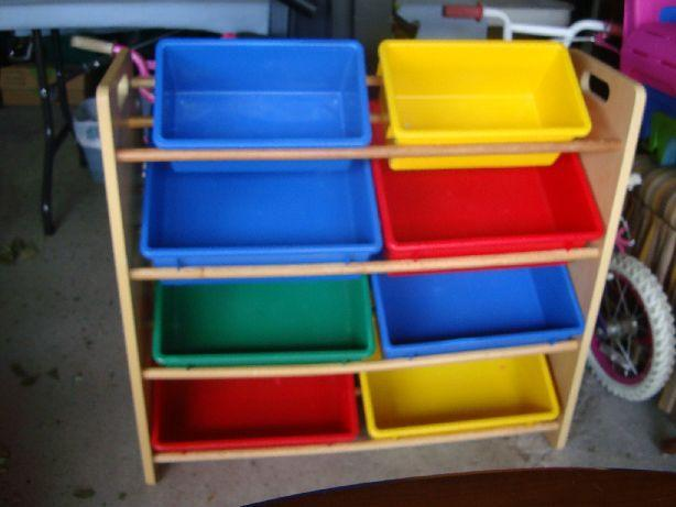 Like New Toy Organizer with Bins - $25