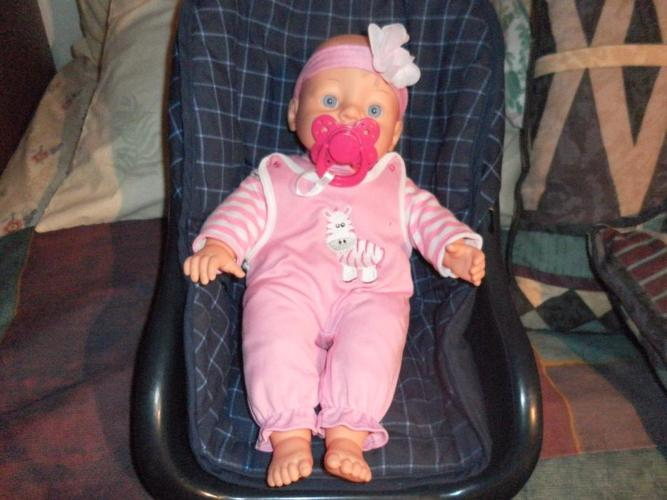 Little Baby Doll w/magnetic soother