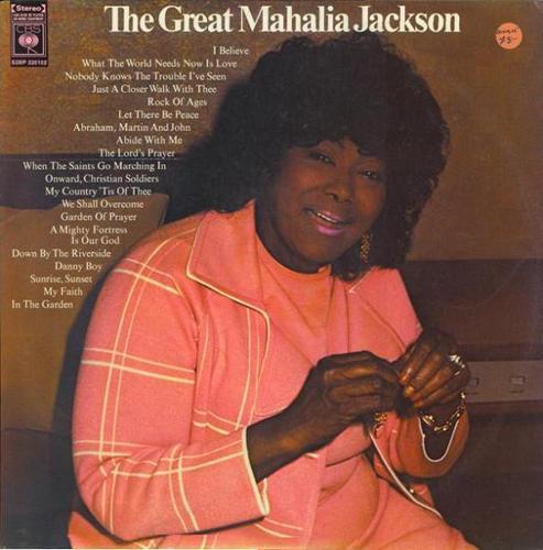 Mahalia Jackson LPs - Compilations