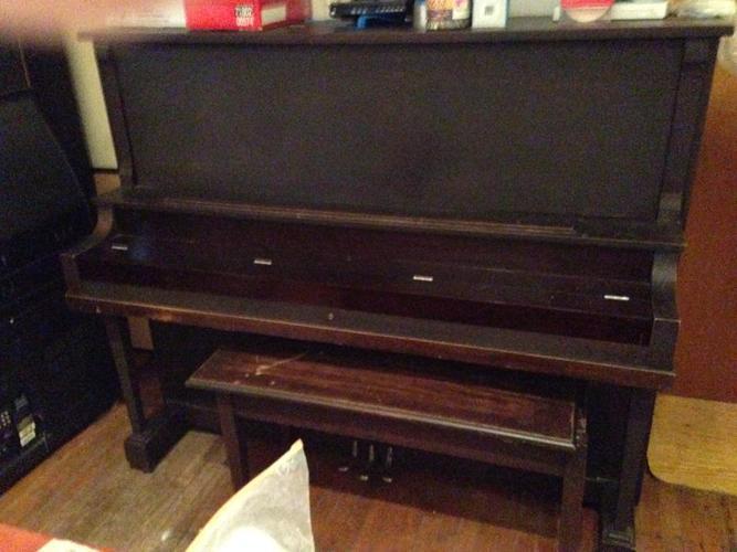 MAHOGANY PIANO