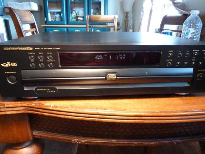 Marantz CC-3000 CD Player 5 Disc CD Changer Carousel