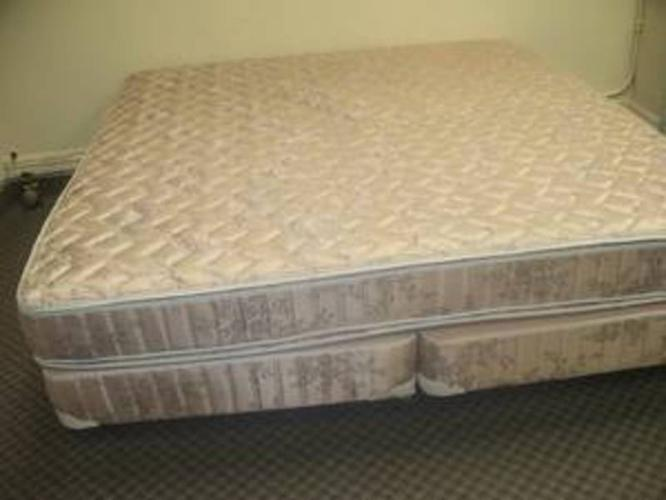 Matching mattress box spring and bed frame king size