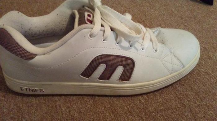 Men's Etnies pro skate shoe Size 15