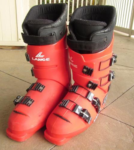 Men's Lange Ski Boots, Size 10.5