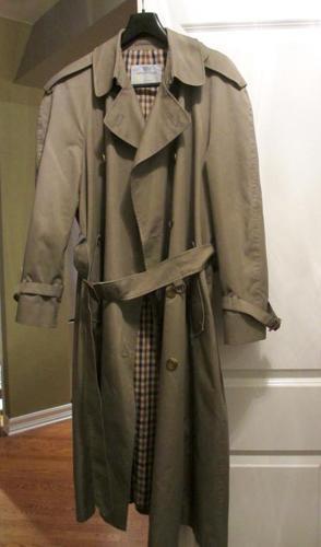 Men's Trench Coat - Aquascutum