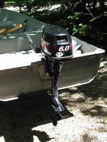 Mercury 6 hp outboard 4 stroke short shaft boat motor for for Outboard motor for sale ontario