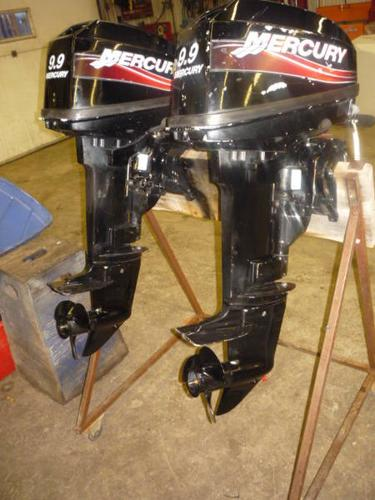Mercury 9 9m 2 stroke short shaft outboard for sale in for Outboard motor for sale ontario
