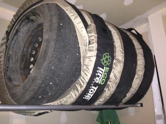 Michelin X-Ice 2 Snow Tires on Rims