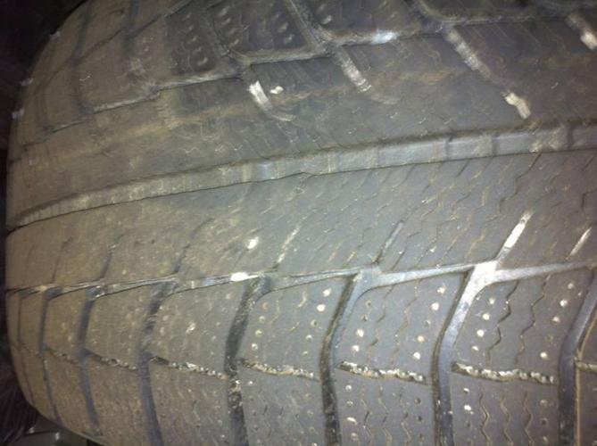 Michelin X-Ice Winter Tires On Pontiac Grand Prix Rims