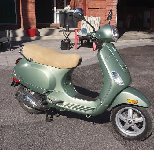 Mint condition Vespa for sale