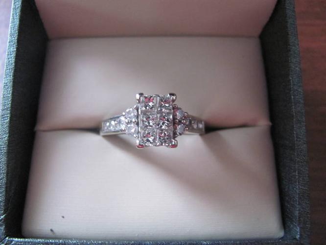 Mirage Cut Diamond ring 1.50ctw/14kw