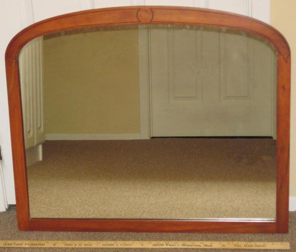 Mirror 32? x 27? in Maple Frame