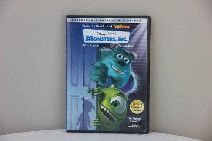 Monsters Inc DVD