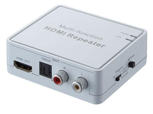 Multi-function HDMI Repeater with Audio Extraction