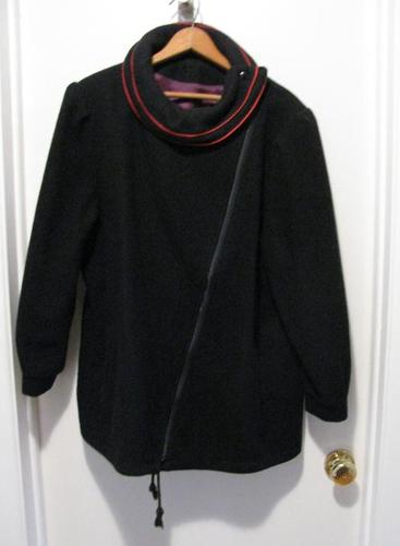 Navy wool jacket (size 20 1/2)