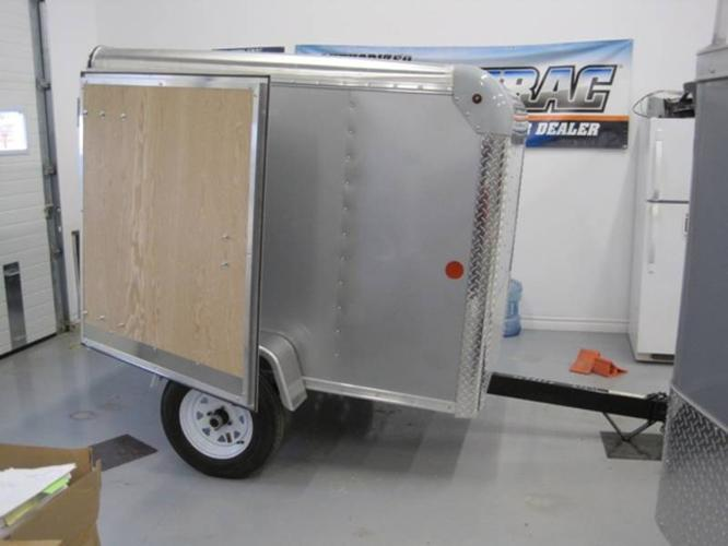 NEW CARGO, UTILITY, SNOWMOBILE TRAILERS FOR SALE