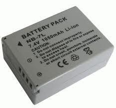 New NB-7L NB7L Battery for Canon Cameras