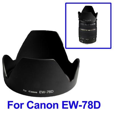 New Replacement Lens Hood for Canon EW-78D