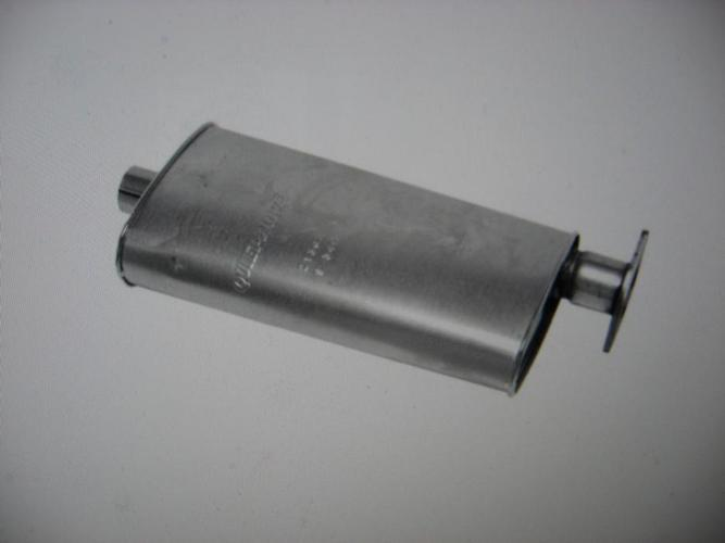 New stainless steel muffler for Jimmy and Blazer