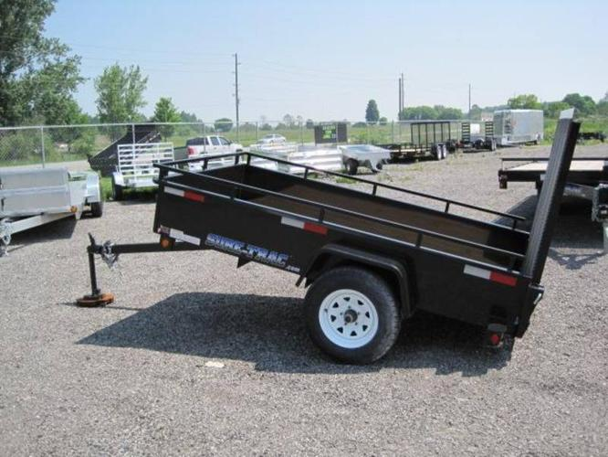 NEW SURE-TRAC HIGH SIDE 4.5X8 UTILITY TRAILER