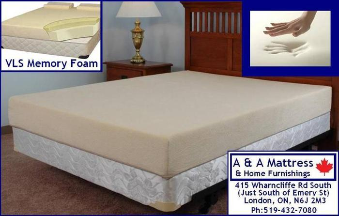 New Twin Double Queen King Memory Foam Mattress Sale A A For Sale In London Ontario Ads