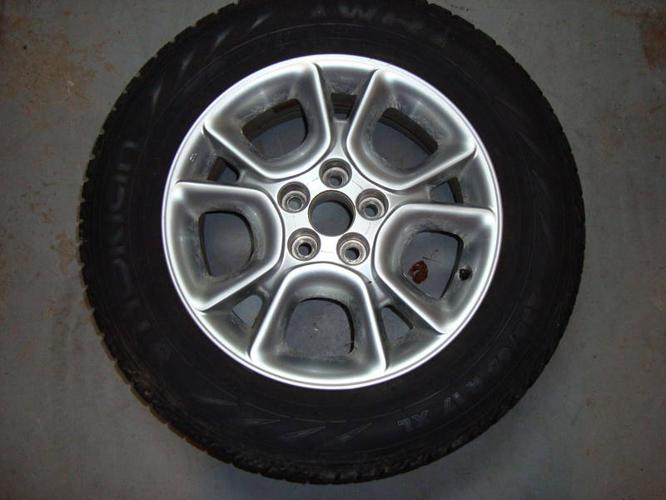 Nokian snow tires and rims