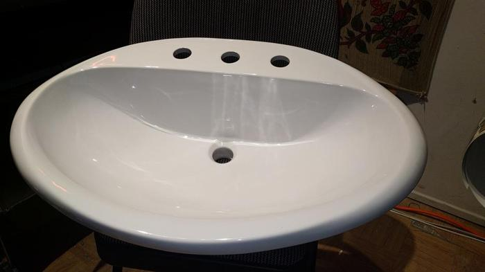 Oval Ceramic Sink