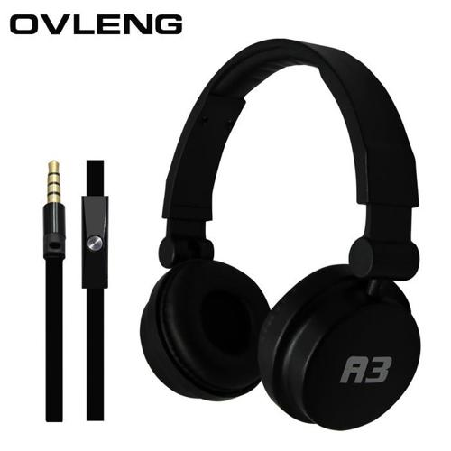 Ovleng A3 Headphones with Microphone for Smart Phone Use