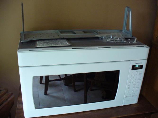 "Panasonic ""Over The Range"" Microwave"