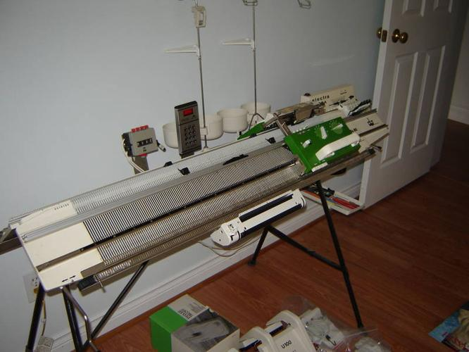Passap Duo 80 Knitting Machine with everything! for sale in Baysville, Ontari...