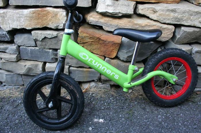 Pedaless bike