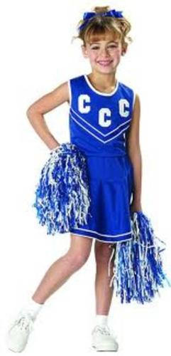 Pep Squad Cheerleader Child Large 10-12 NEW