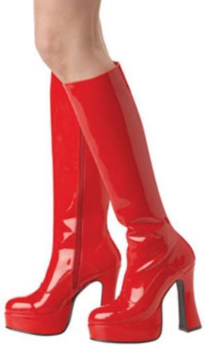 Plarform Boots Red Sm Med Lg NEW