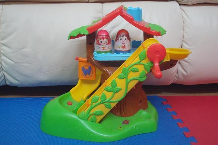 Playskool Weebles Musical Treehouse