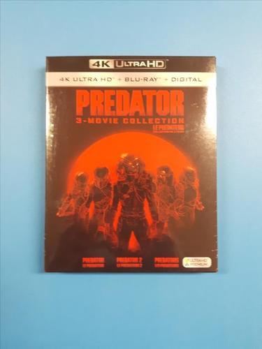 Predator 3-Movie Collection (4K Ultra HD + Blu-ray + Digital)