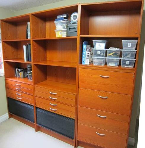 Premium Office Furniture Desk Bookshelves Filing