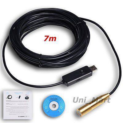 Professional Heavy Duty USB Endoscope Camera Cable