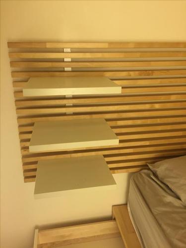 Queen bed from IKEA